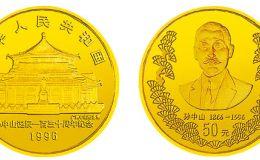1996年孫中山誕辰130周年金幣價格