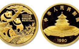 1990年12盎司熊貓金幣價格