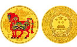2014年5盎司生肖马金币价格