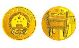青铜器金银币3组5盎司金币价格