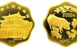 1995年1公斤生肖猪梅花金币价格