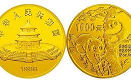 1988年12盎司熊猫金币价格
