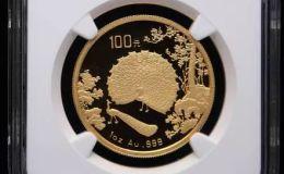 1993年孔雀开屏1盎司纪念金币价格
