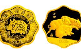 2007年1公斤生肖猪梅花金币价格