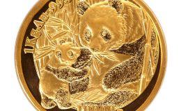 2005年1公斤熊猫金币价格