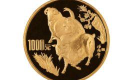 1991年12盎司生肖羊金幣價格