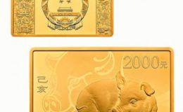 2019年150克生肖豬金幣價格