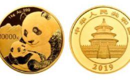 2019年1公斤熊貓金幣價格