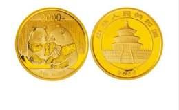2009版熊猫金银纪念币5盎司金质纪念币