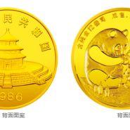 1986年12盎司熊猫金币价格