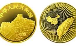 臺灣光復回歸祖國50周年1公斤金幣價格