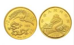 1990年龍鳳呈祥2盎司紀念金幣價格