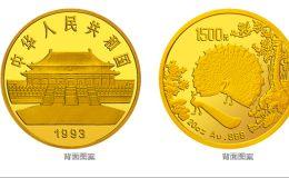 孔雀开屏金银币20盎司金币价格