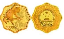 2016年1公斤生肖猴梅花金幣價格