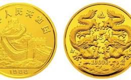 1988年12盎司生肖龍金幣價格