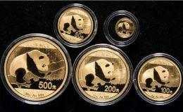 熊猫金银币价格回收价格