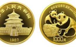 1987年12盎司熊猫金币价格