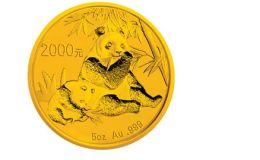 2007年5盎司熊猫金币价格图片