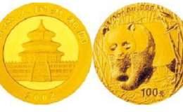 2002年1公斤熊貓金幣價格