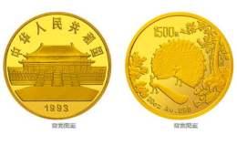 孔雀开屏20盎司金币价格
