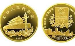 香港回歸5盎司金幣價格