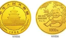 1984年12盎司熊貓金幣價格表