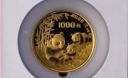 1995年12盎司熊貓金幣價格
