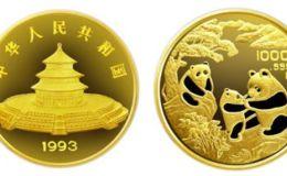 1993年12盎司熊貓金幣的價格