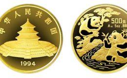 1994年5盎司熊貓金幣的價格