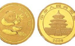 2000年1公斤熊猫金币价格激情小说价值