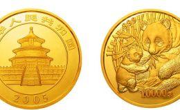 2005年1公斤熊貓金幣的價格