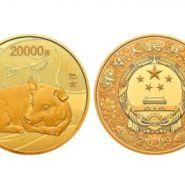 2019中国己亥猪年金银纪念币2公斤圆形金质纪念币