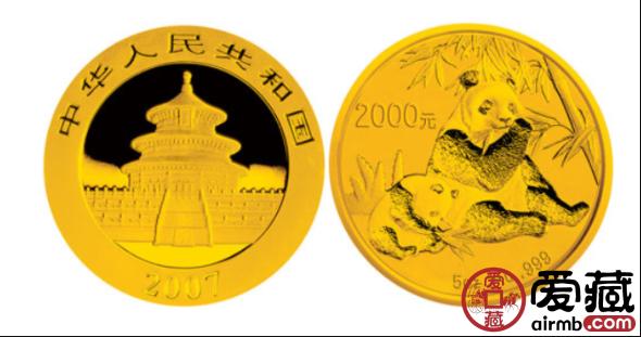 2007年熊猫5盎司纪念金币回收价格