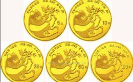 回收1984版熊猫金银铜纪念币