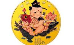 1997年1/10盎司吉庆有余彩金币价格详解