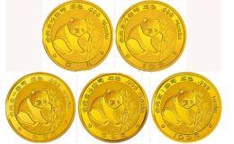 1988年熊猫金银币套装价格 1988年熊猫套装价值百万