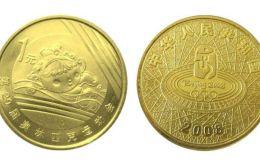 北京奥运会游泳纪念币 奥运纪念币价格