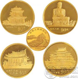 1993年台湾风光金币 最新价格