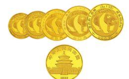 历年熊猫金币市价 历年熊猫金币价格表