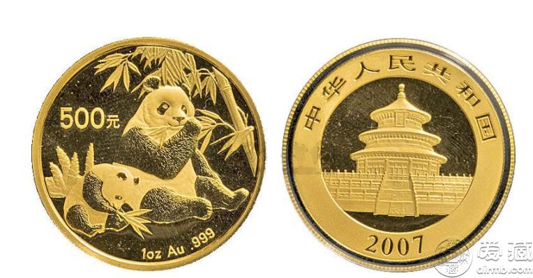 2007年1盎司熊猫金币价格 收藏价值高吗