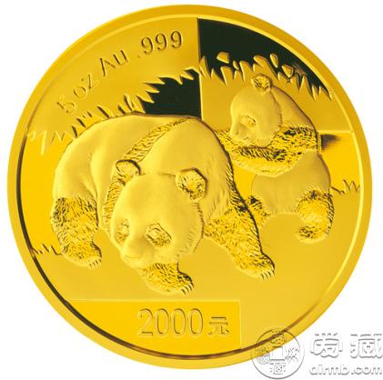 2008年5盎司熊猫金币价格 价值分析