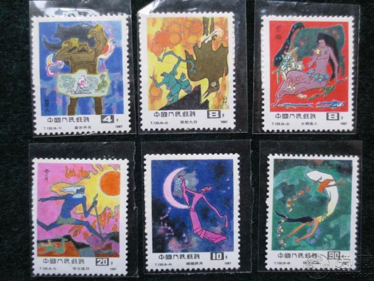 T120神话邮票价格 整版票价格