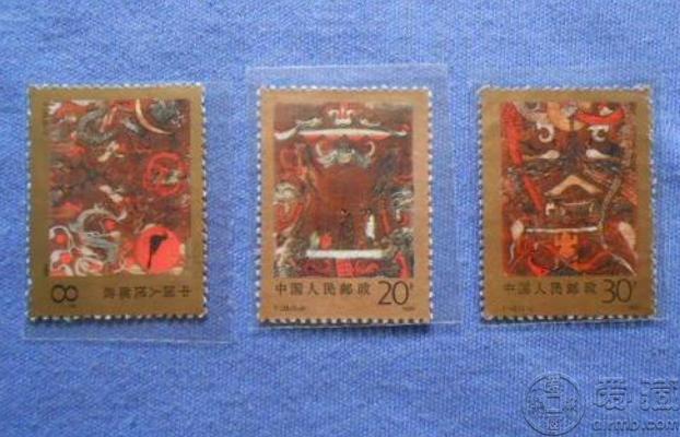 T135马王堆邮票价格 市场价格大版票图片