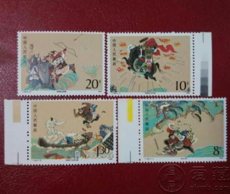 T138水浒二邮票价格 水浒大版邮票价格