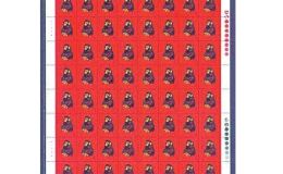 猴票1980整版现价 整版票价格