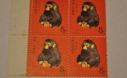 猴票四方连1980枚现价 80猴票四方联价格