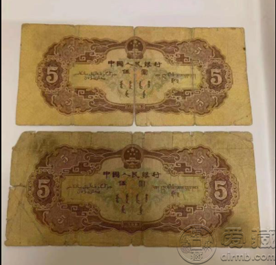 1956年5元人民币值多少钱 1956年5元人民币价格图片