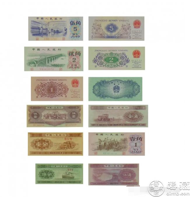 光辉岁月珍藏册多少钱  内附三套人民币价格