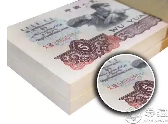 60年5元人民币值多少钱一张   60年5元人民币单张价格