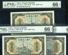 第一版人民币壹万圆菱花水印军舰 10000元军舰价格值多少钱